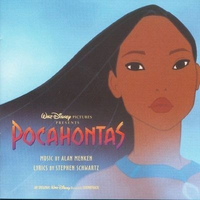 風中奇緣 電影原聲帶 Pocahontas Original Soundtrack 專輯封面