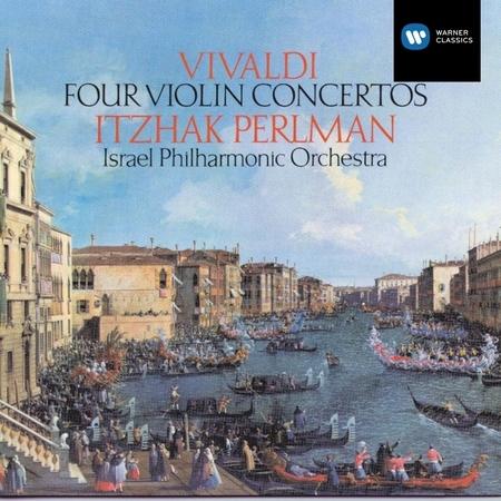 Four Violin Concertos 專輯封面