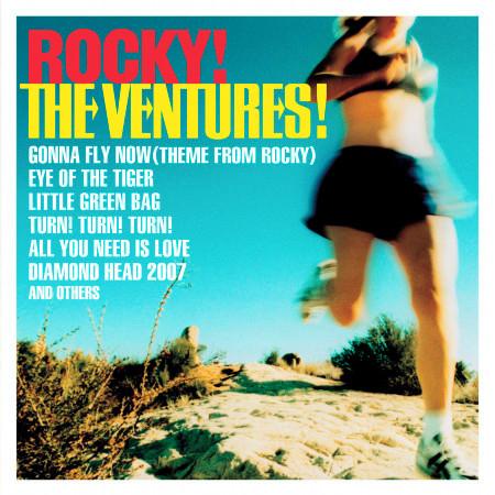 ROCKY! THE VENTURES! 專輯封面