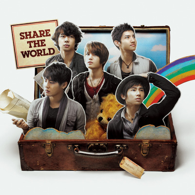 Share The World/We Are! 專輯封面