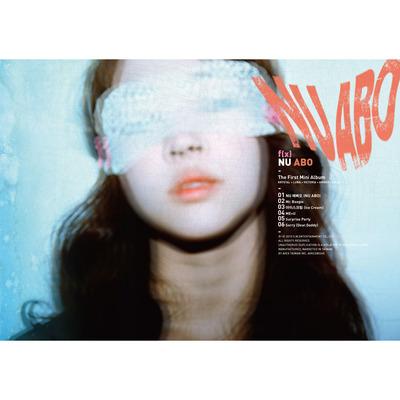 1st Mini Album NU ABO 專輯封面