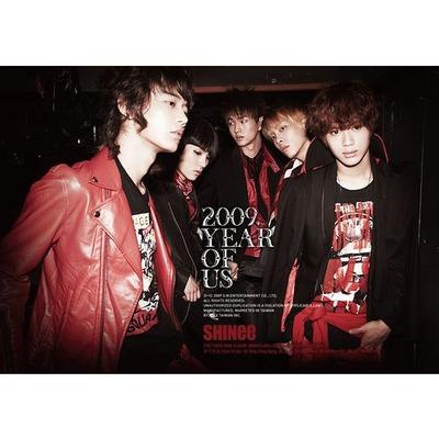 SHINee The 3rd Mini Album (Y.O.U.) 專輯封面