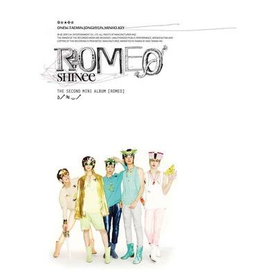 The 2nd Mini Album  'Romeo' 專輯封面