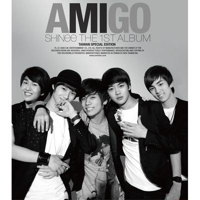 1st Album-TW special edition Amigo 專輯封面