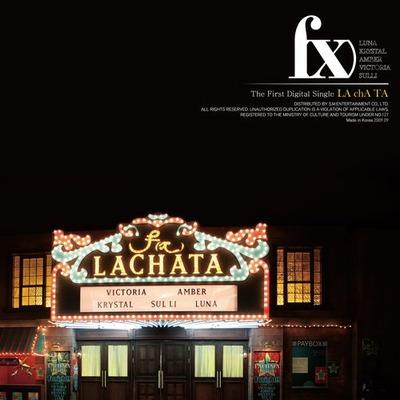 1st Digital Single 'LA chA Ta' 專輯封面