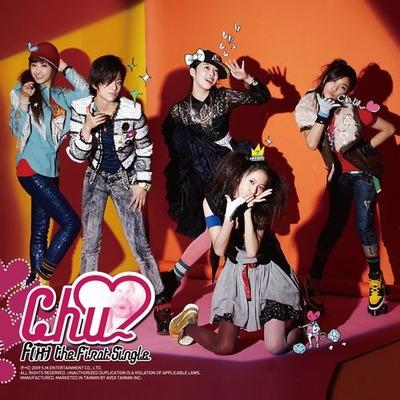 The 1st Single Album <Chu~♡> 專輯封面