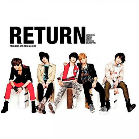 RETURN 最新韓語迷你專輯 專輯封面