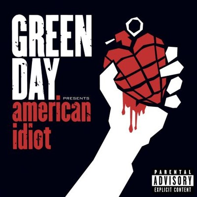 American Idiot (Regular Edition) 美國大白癡 專輯封面