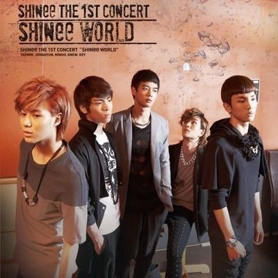 THE 1ST CONCERT ALBUM 'SHINee WORLD' 專輯封面