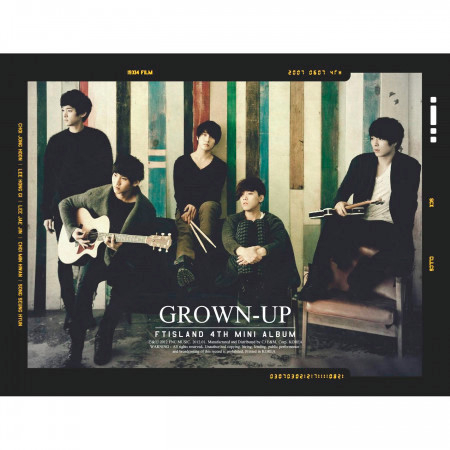 GROWN-UP 專輯封面