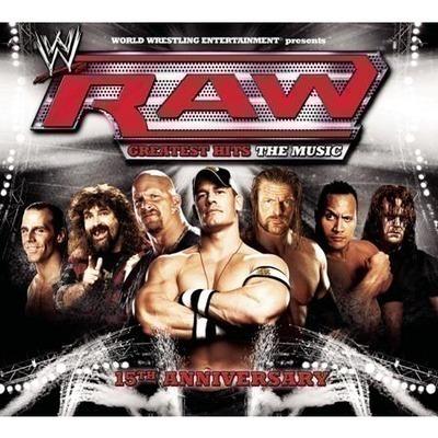WWE Raw: Greatest Hits - The Music 專輯封面