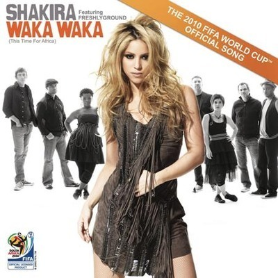 Waka Waka (This Time for Africa) (The Official 2010 FIFA World Cup (TM) Song) [ feat. Freshlyground] 專輯封面