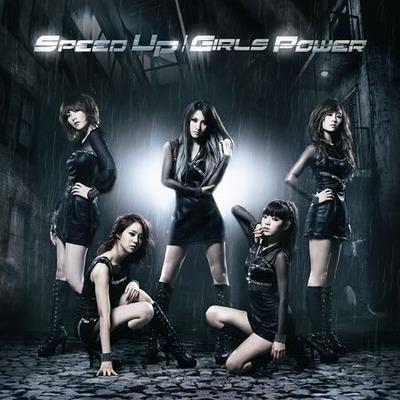 SPEED UP / GIRLS POWER 專輯封面