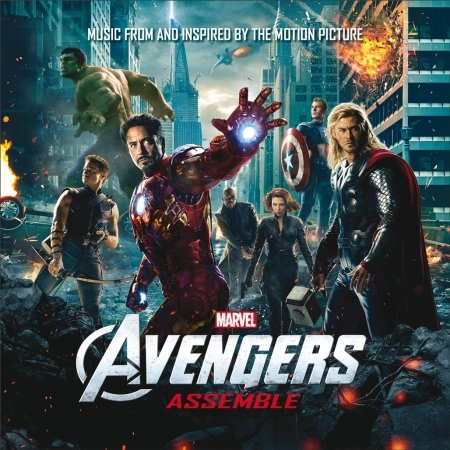 Avengers Assemble 復仇者聯盟 電影原聲帶 專輯封面