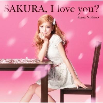 SAKURA,I love you? 專輯封面