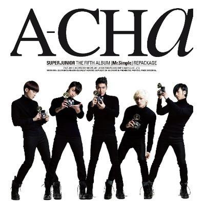 第五張專輯C版「A-CHA」 專輯封面