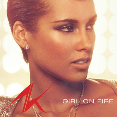 Girl On Fire (E-Blast) 專輯封面