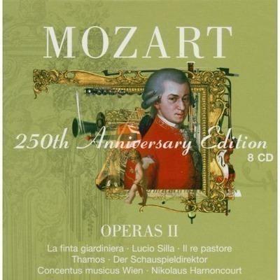 Mozart : Operas Vol.2 [La finta giardiniera, Lucio Silla, Il re pastore, Thamos, Der Schauspieldirektor] 專輯封面
