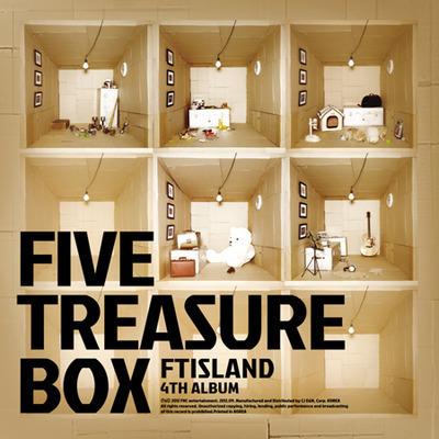 【Five Treasure Box】台灣獨占初回限定盤 專輯封面