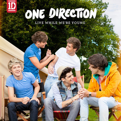 Live While We're Young 專輯封面