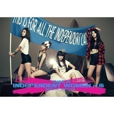Independent Women pt.III 亞洲特別盤 專輯封面