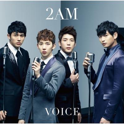 首張日文專輯Voice 專輯封面