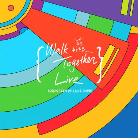 當我們一起走過 - Live In Taipei 專輯封面