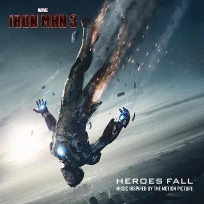 鋼鐵人3 歌曲番外篇 IRON MAN 3 Heroes Fall 專輯封面