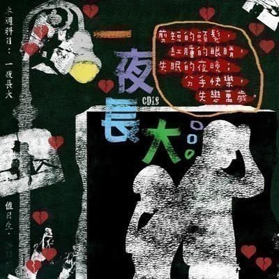 滾石30青春音樂記事簿 18一夜長大 專輯封面