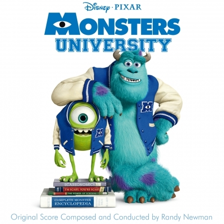Monsters University 專輯封面