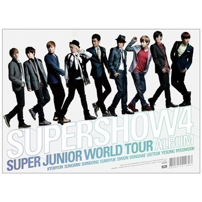 SUPER JUNIOR World Tour  [SUPER SHOW 4] 專輯封面