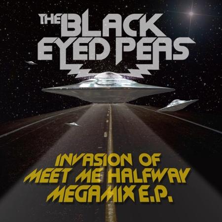 Invasion Of Meet Me Halfway - Megamix E.P. (International Version) 專輯封面