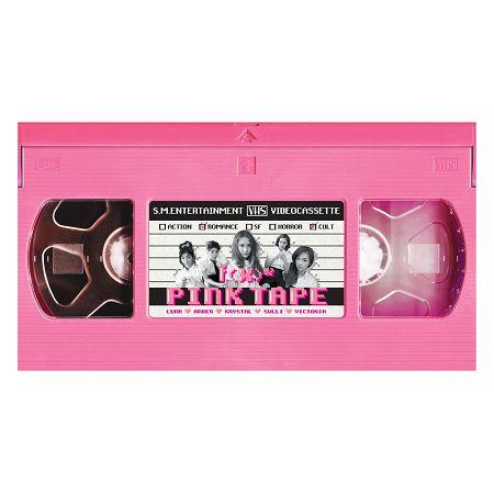 第二張正規專輯「Pink Tape」 專輯封面