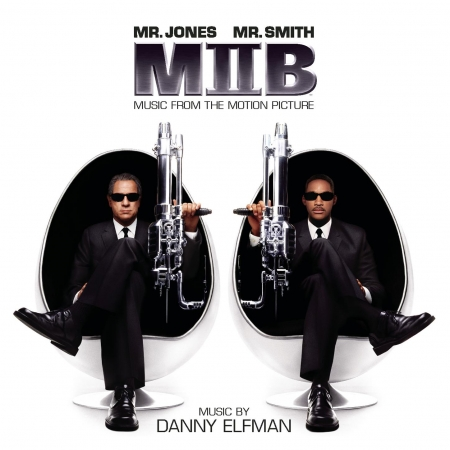 Men In Black II - Music From The Motion Picture 專輯封面