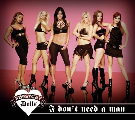I Don't Need A Man (International Version) 專輯封面