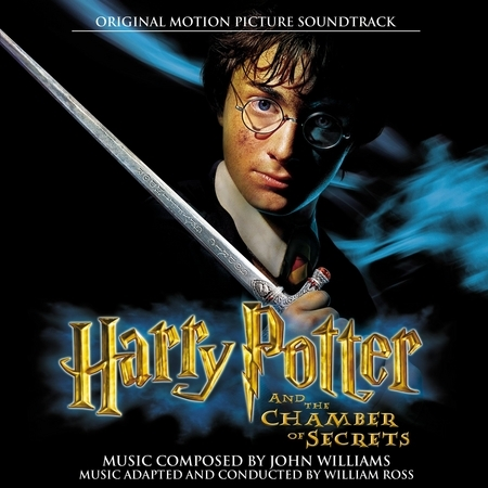 Harry Potter and The Chamber of Secrets/ Original Motion Picture Soundtrack 專輯封面
