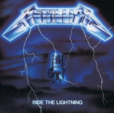 Ride The Lightning 專輯封面