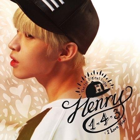 The 1st Digital Single '1-4-3 (I Love You)' 專輯封面