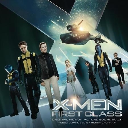 X-MEN: FIRST CLASS 專輯封面