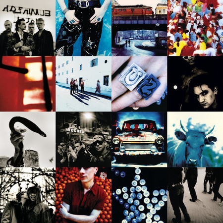 Achtung Baby 專輯封面