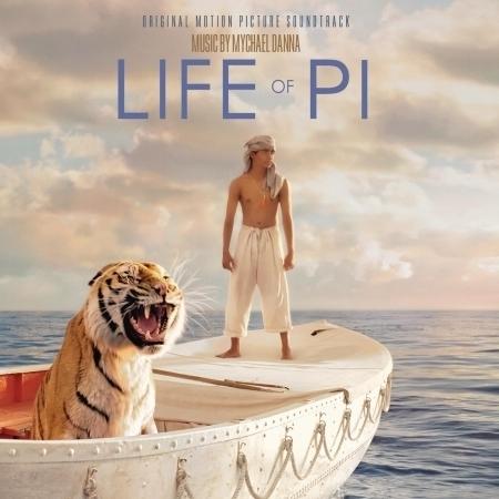 少年Pi的奇幻漂流-電影原聲帶 Life of Pi 專輯封面
