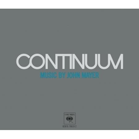 Continuum 專輯封面