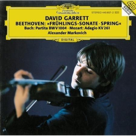 Beethoven: Violin Sonata No.5; Bach: Partita No.2; Mozart: Adagio 專輯封面