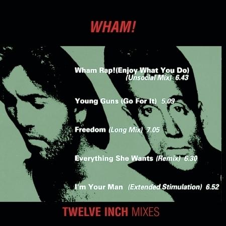 "Wham 12"" Mixes 專輯封面"
