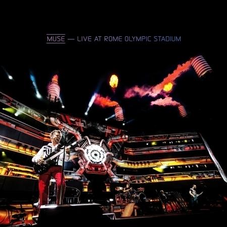 Live At Rome Olympic Stadium 專輯封面