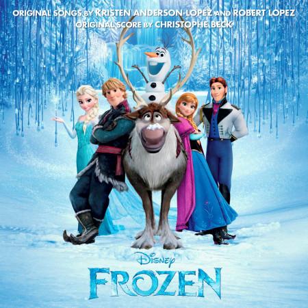 Frozen Original Motion Picture Soundtrack 專輯封面