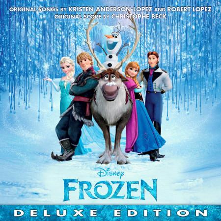 Frozen Original Motion Picture Soundtrack (Deluxe Edition) 專輯封面