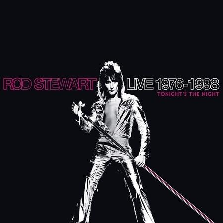 Live 1976-1998: Tonight's The Night 專輯封面