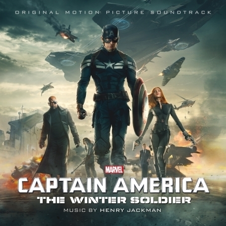 Captain America: The Winter Soldier (Original Motion Picture Soundtrack) 專輯封面