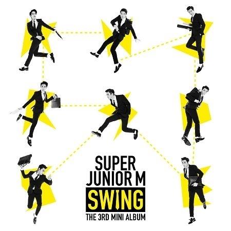 第三張迷你專輯「SWING」 專輯封面